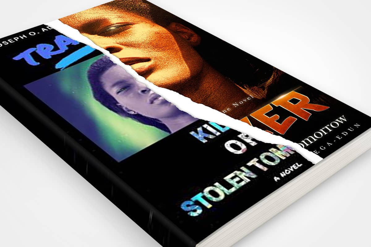 book cover redesign trazer