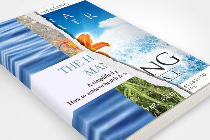book cover redesign tara antler the healing manual