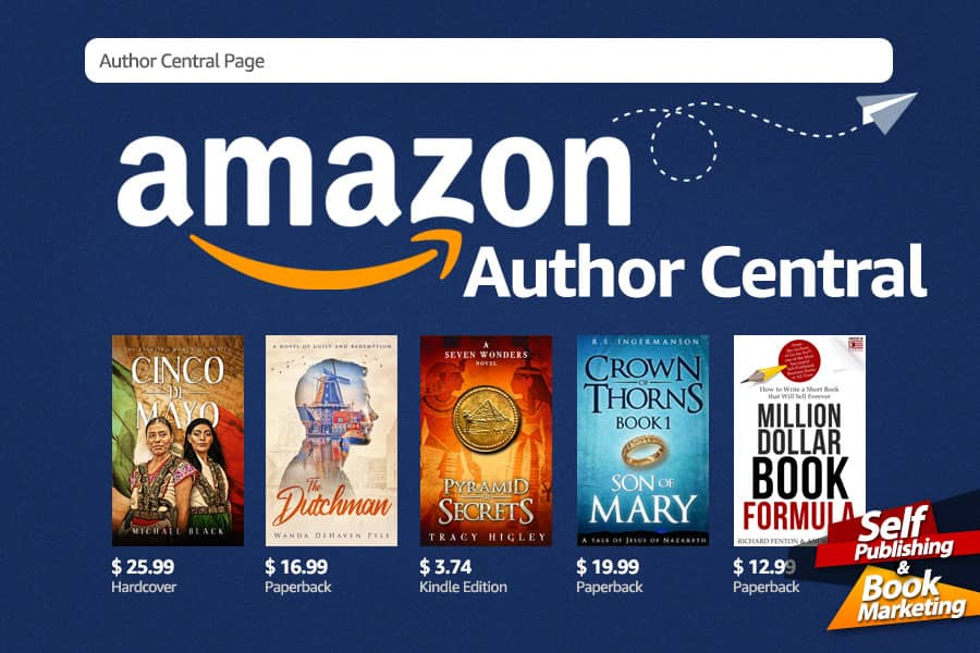 Amazon Author Central – How to Setup Your Author Page on Amazon!